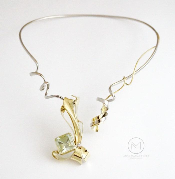 Goldschmiede Anne-Maria Fischer - AM -Leipzig - Schmuckdesign - Unikatschmuck - Meisterstück - Collier